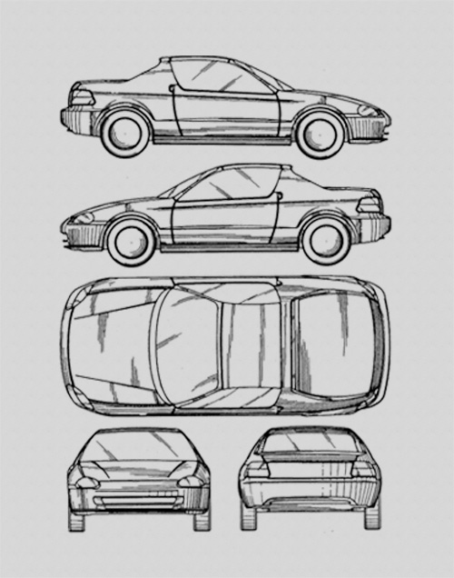 blueprint art