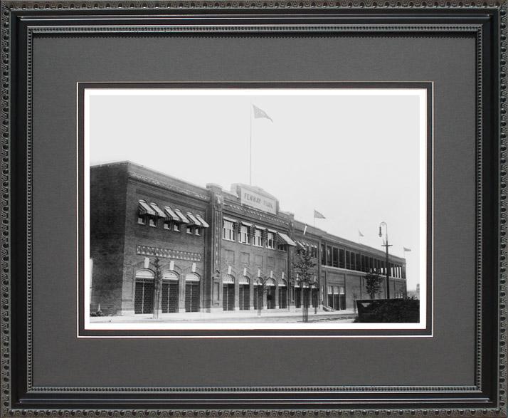 Fenway Park Exterior Historical Red Sox Print Coach Office Art
