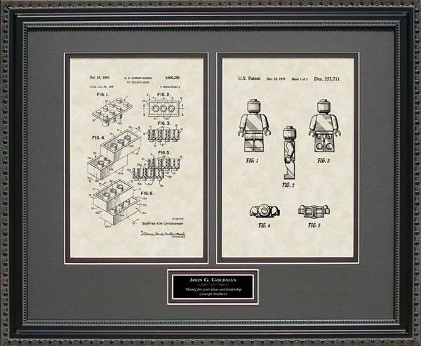 Legos Patent Art