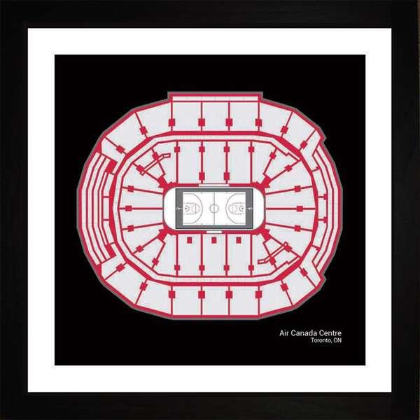Toronto Raptors Air Canada Centre Arena Print Art Gift